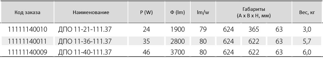 ДПО 11 «STIL» OP опаловый рассеиватель