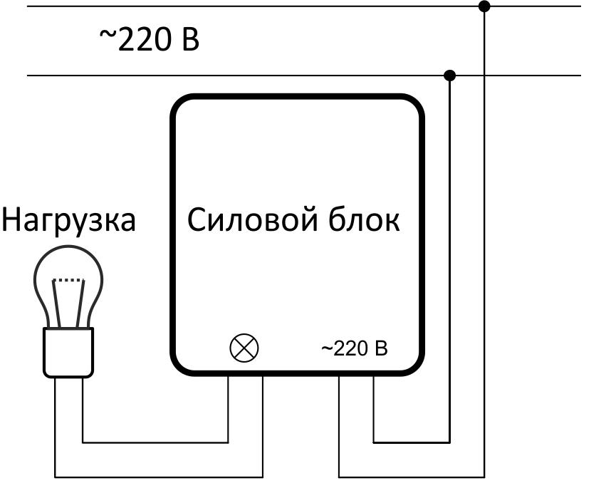 Схема подключения и монтажа системы «nooLite»